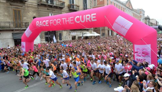 Tappa a Pescara per la Race for the Cure