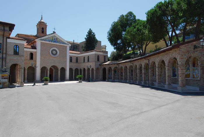 Il complesso della Madonna dello Splendore a Giulianova