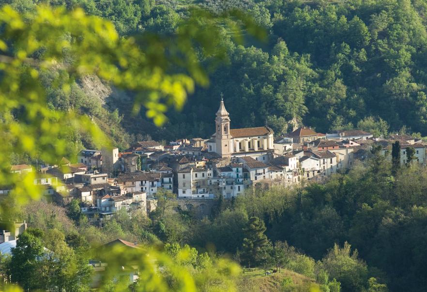 Veduta panoramica di Bisenti (ph. Maurizio Anselmi)