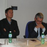 a sinistra: Davide Acerra, responsabile Abruzzo-Molise guida Slow Wine