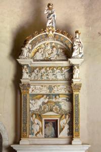 Tabernacolo opera di Giovanni di Biasuccio con la collaborazione di Saturnino Gatti