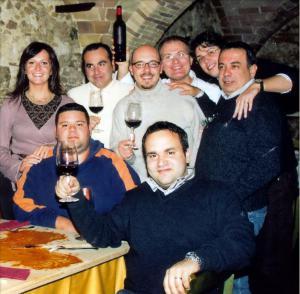 Il gruppo dei fondatori (archivio CdG)