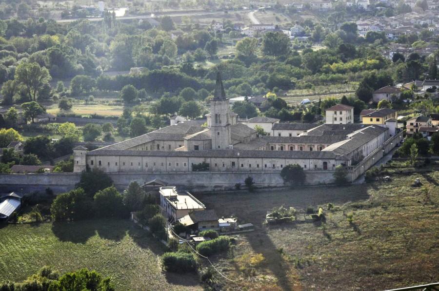 Abbazia di Santo Spirito al Morrone (ph. Ivan Masciovecchio)