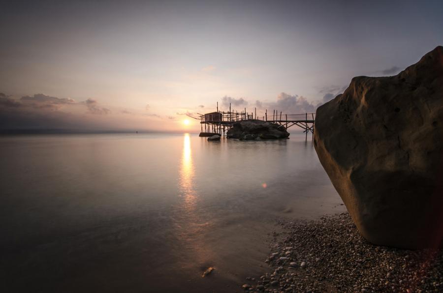 Alba sul tramonto (ph. Alessandro Petrini)