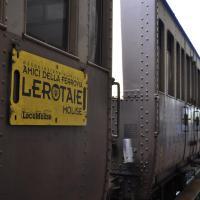 Carrozza del treno storico modello Centoporte