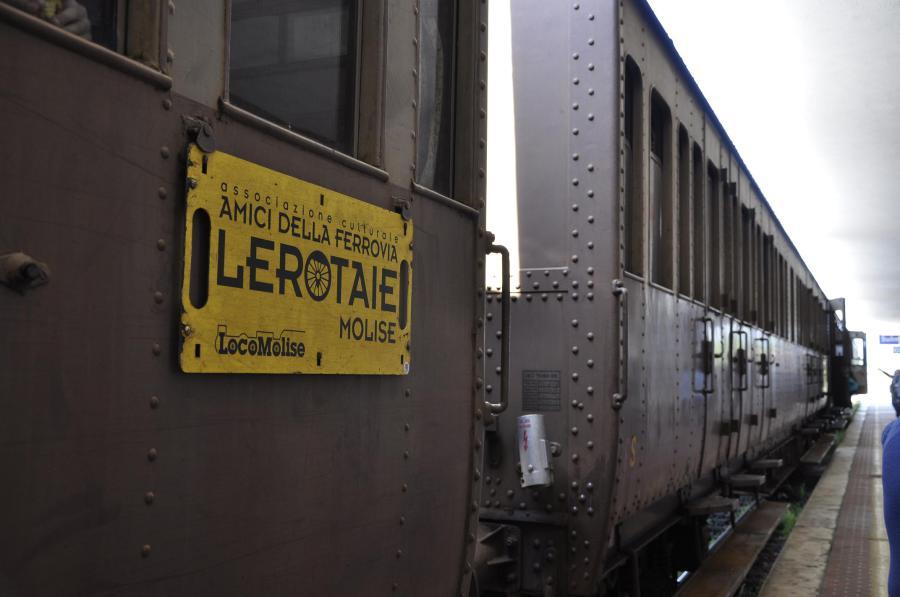 Carrozza del treno storico modello Centoporte (ph. Ivan Masciovecchio)
