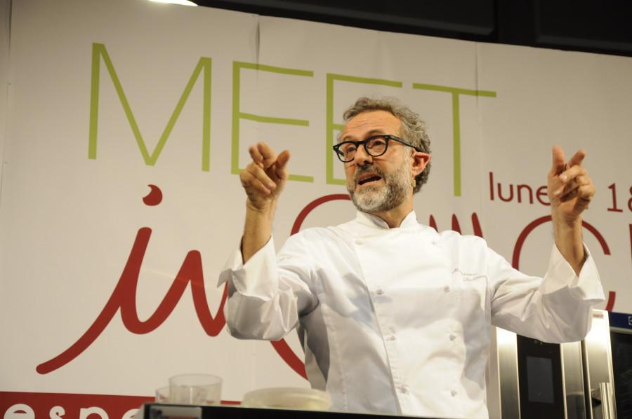 Massimo Bottura on stage (ph. Ivan Masciovecchio)