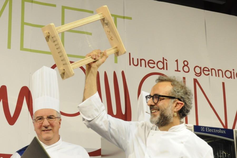 Massimo Bottura neo Cavaliere dell'Ordine dei Maccheroni alla Chitarra (ph. Ivan Masciovecchio)