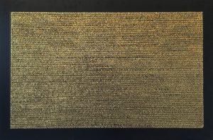"""Opera di Nathalie Vin esposta nella mostra """"Oro Musiwa 2016"""" a Roseto degli Abruzzi"""