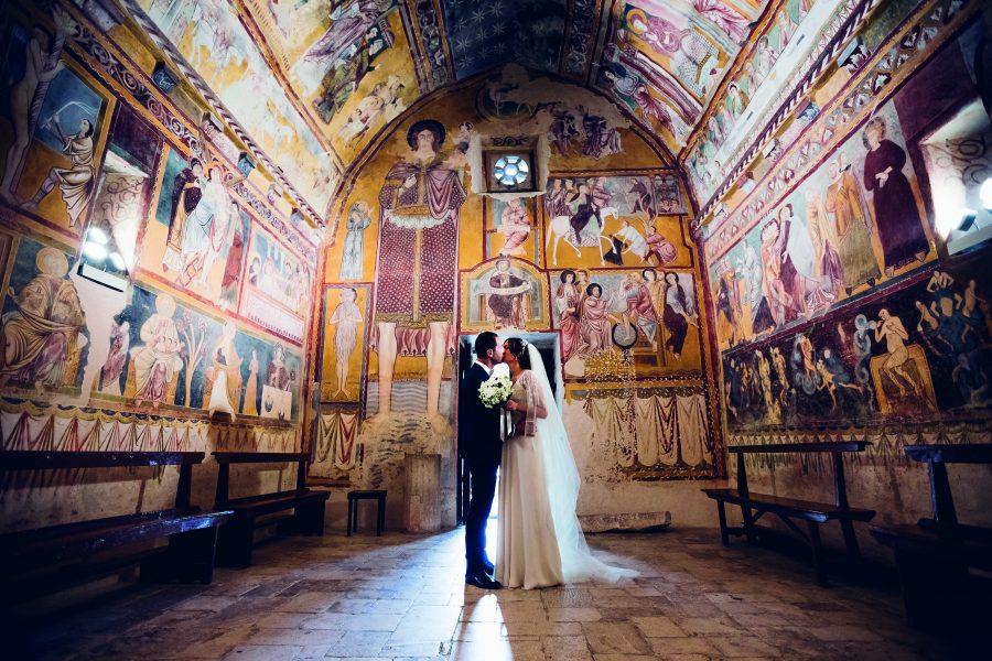 Bominaco di Caporciano (Aq), Oratorio di San Pellegrino.