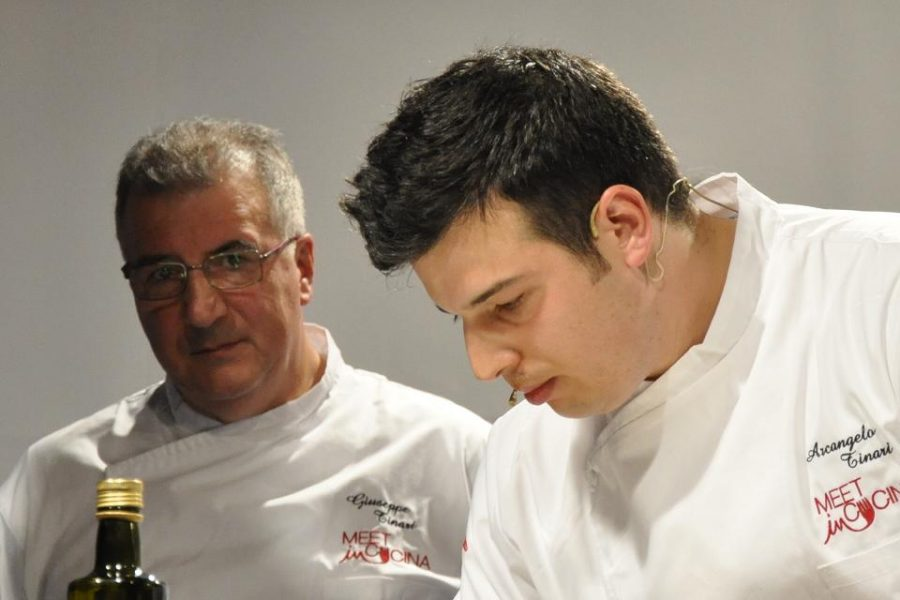 Arcangelo e Peppino Tinari (ph. Ivan Masciovecchio)