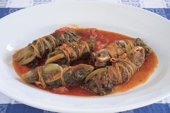 Mazzarelle in sugo (ph. archivio Arssa)