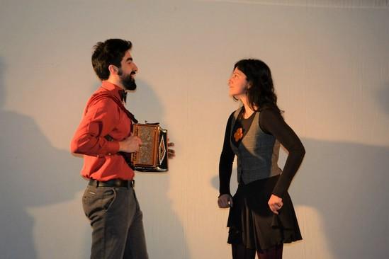 Marcello Sacerdote e Francesca Camilla D'Angelo del Muré Teatro (ph. sito teatro)