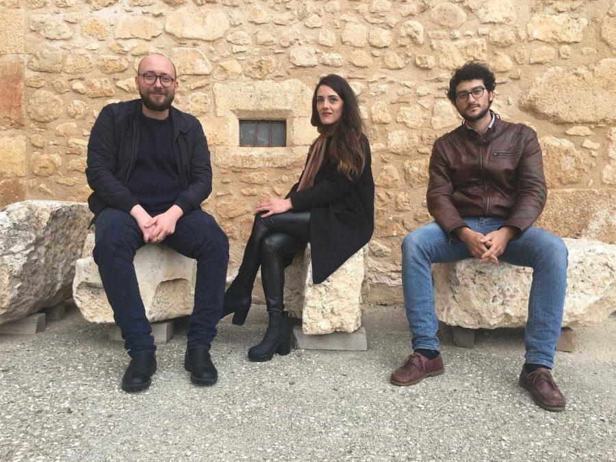Da sinistra: Luca Quaglia, Benedetta Mastri e Paolo Virgilio