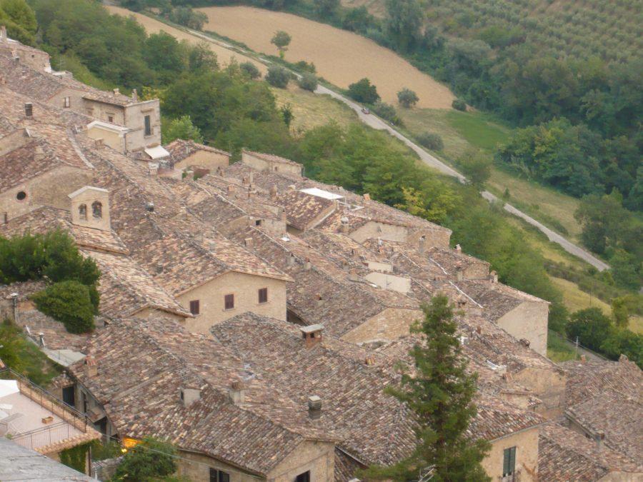Il borgo visto dalla Fortezza