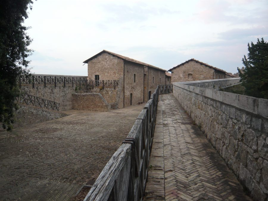 La Fortezza teatro della cena-evento con Massimo Bottura