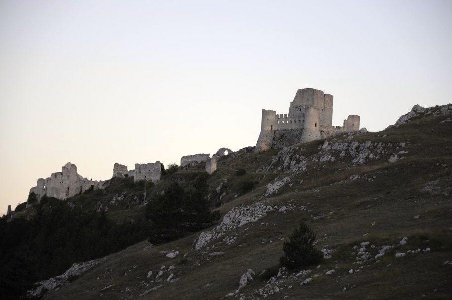 Rocca Calascio al tramonto (ph: Ivan Masciovecchio)