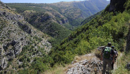 Sul Sentiero della Libertà nella Valle dell'Orfento