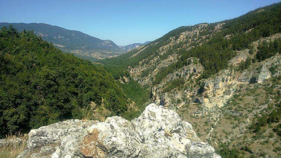 Panorama sulla Valle dell'Orfento (ph. Ivan Masciovecchio)