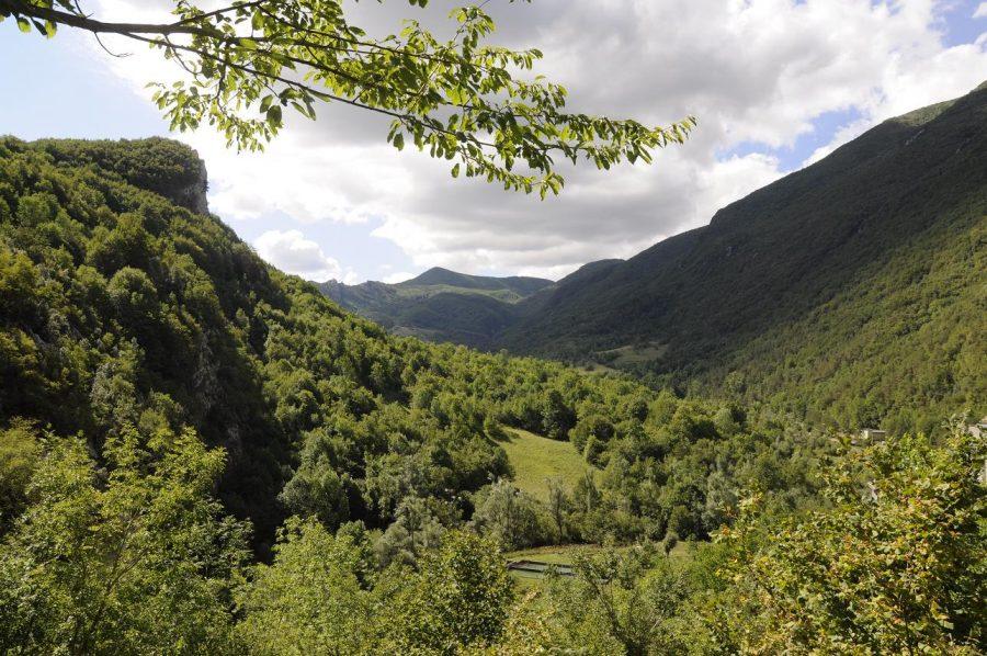 Valle d'Angri nel territorio di Farindola (ph. Ivan Masciovecchio)