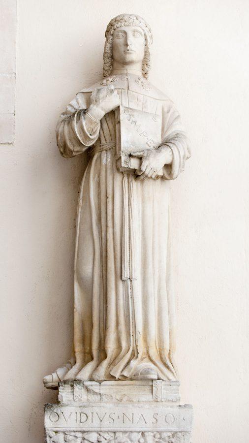 statua di ovidio smpe