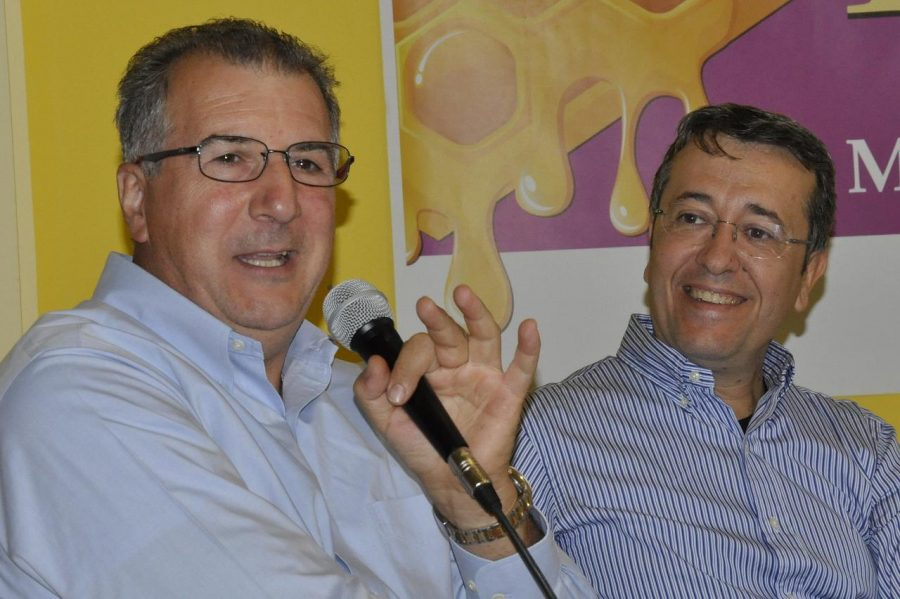 Peppino TInari e Marcello Spadone (ph. Ivan Masciovecchio)