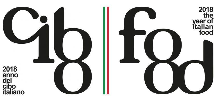 Logo ufficiale del 2018 Anno del cibo italiano