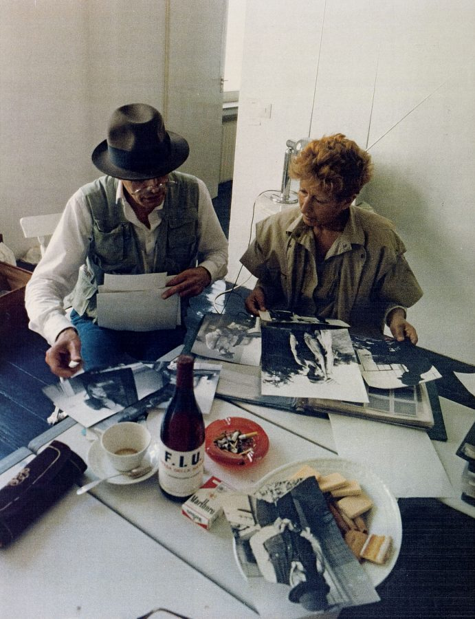 LDD nella casa di Beuys a Dusseldorf 1982 (2)
