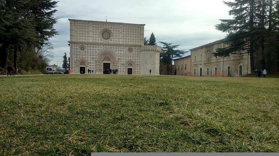 La Basilica di Collemaggio a L'Aquila  (ph. Ivan Masciovecchio)