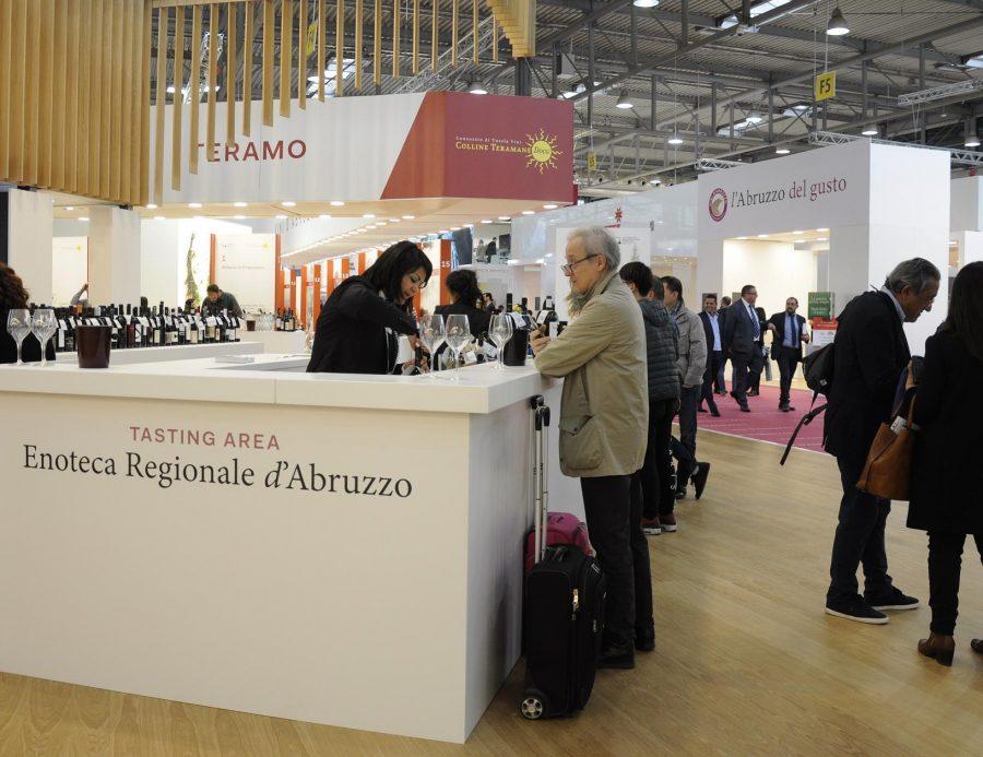 Spazi interni dell'area Abruzzo
