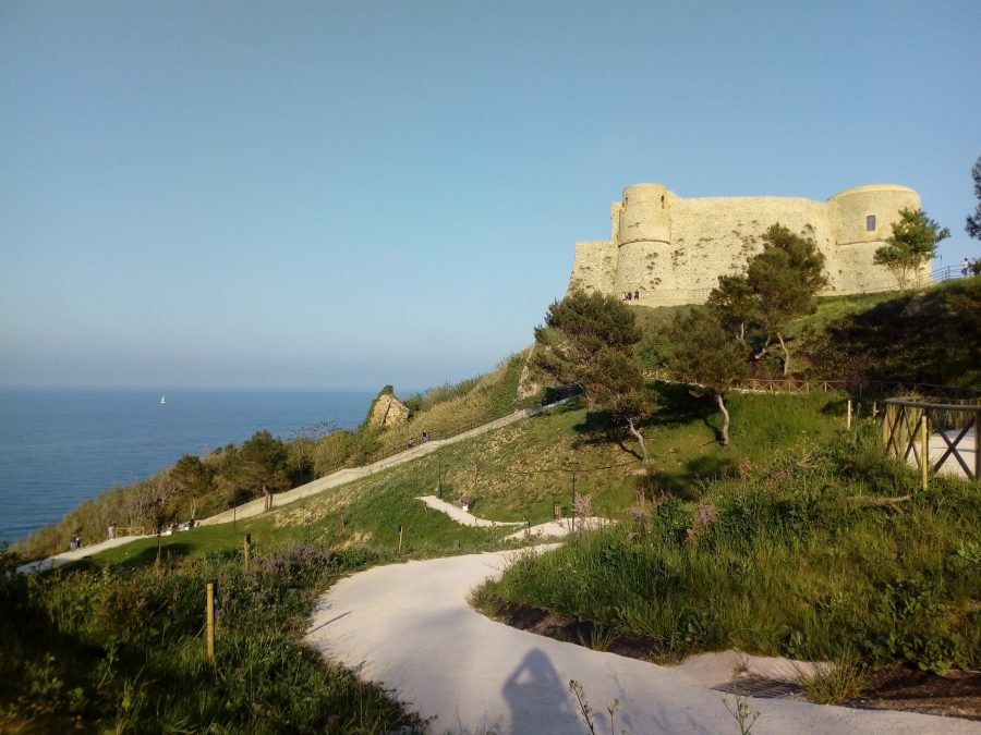 Panoramica del Castello Aragonese di Ortona