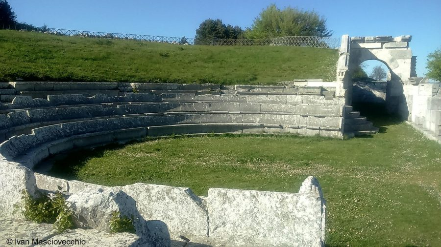 Santuario sannita di Pietrabbondante (ph. Ivan Masciovecchio)