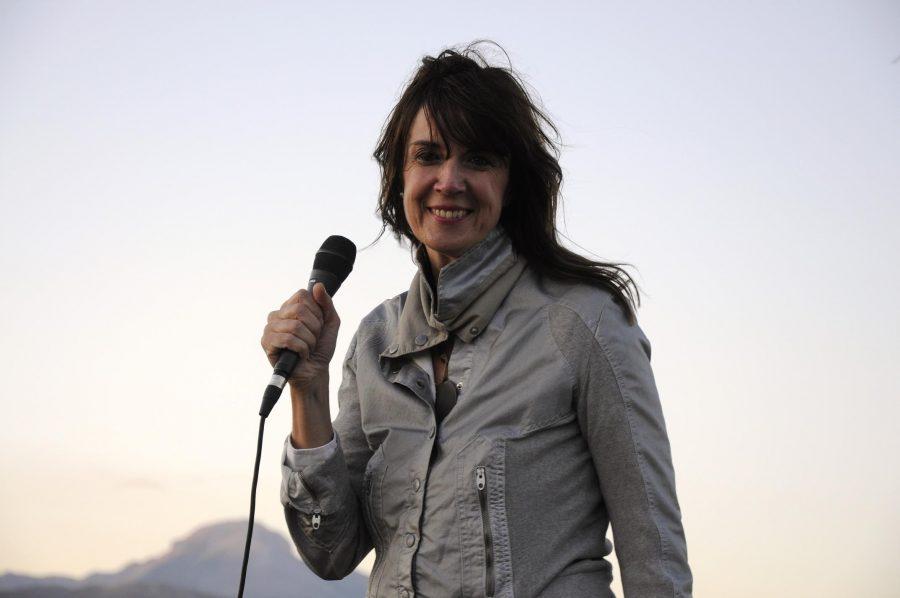 Il sorriso di Cristina Donà (ph. Ivan Masciovecchio)