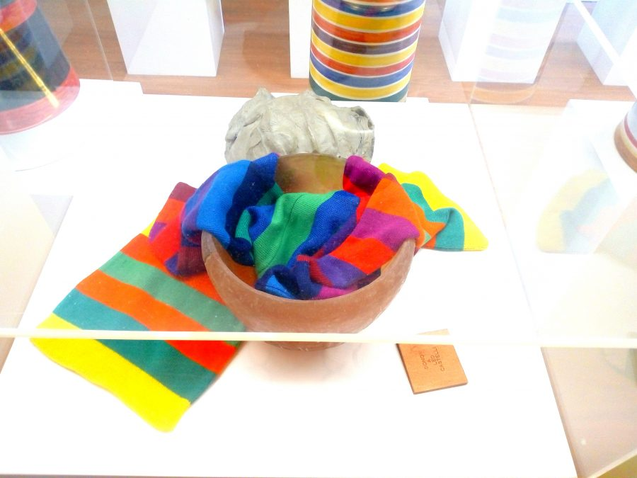 """L'opera """"Nesso"""" di Franco Summa esposta alla Biennale di Venezia del 1978."""