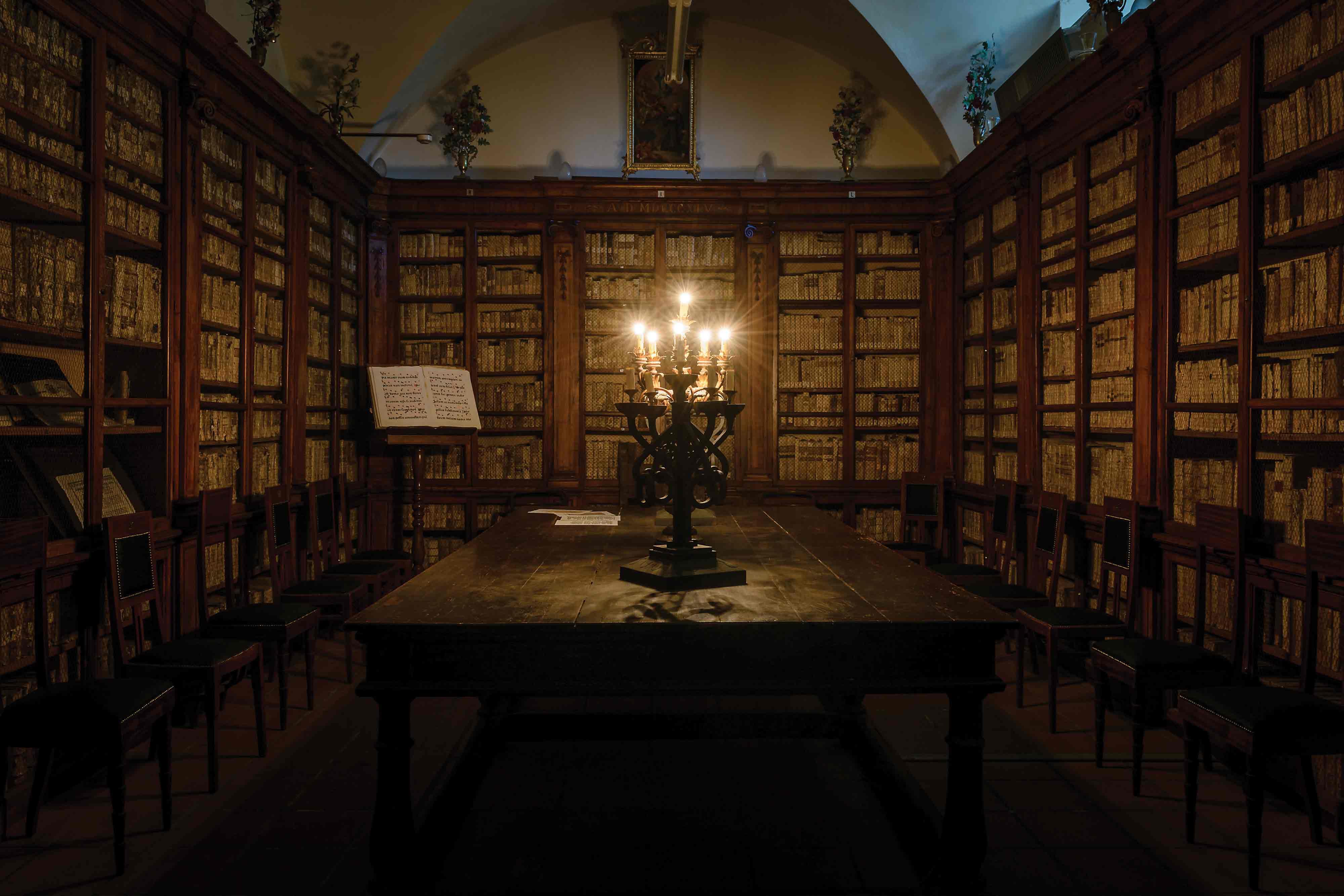 Datazione biblioteca