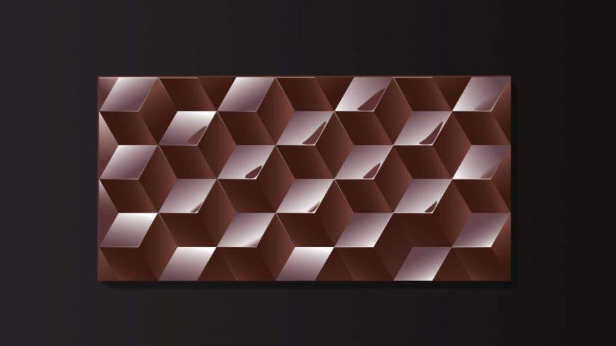 """L'opera di Gaudenzio Ciotti """"Cubes"""", 2014 - sezione Design."""