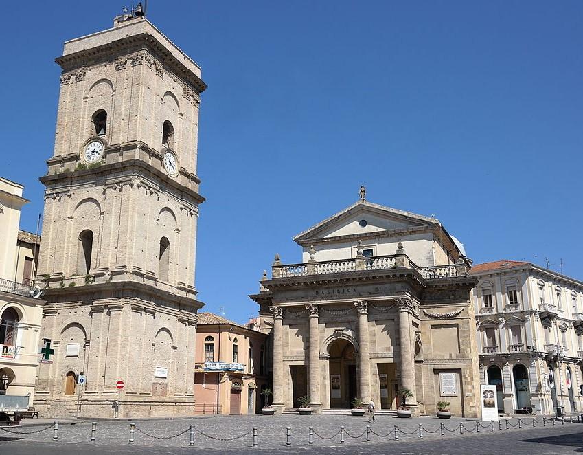 Piazza Plebiscito a Lanciano