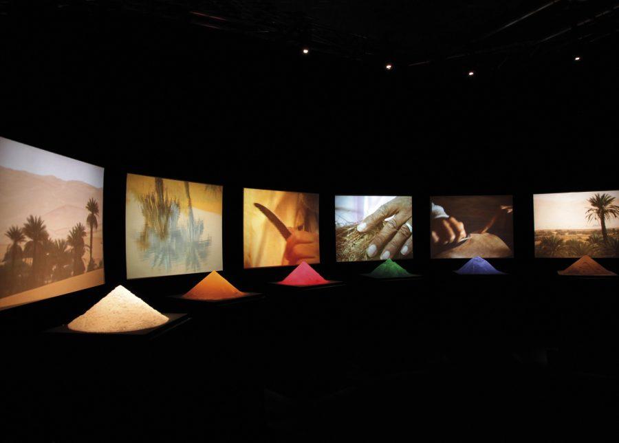 Studio Azzurro, Il colore dei gesti, Sinfonia Mediterraneo, Palazzo dell'Arte, La Triennale, Milano, 2013