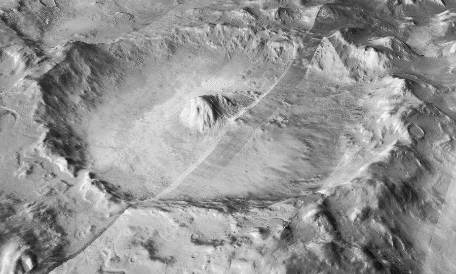 cratere di marte