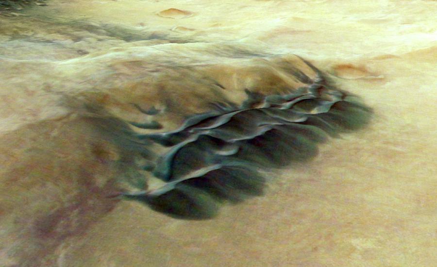 dune di sabbia di marte
