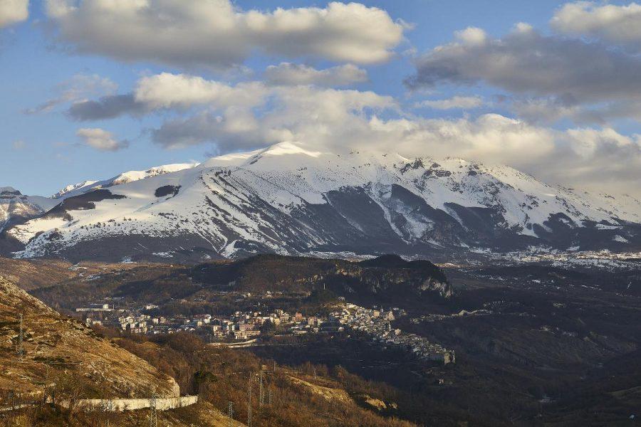 Veduta di Caramanico Terme (ph. archivio Majambiente - Stefano Lasi)