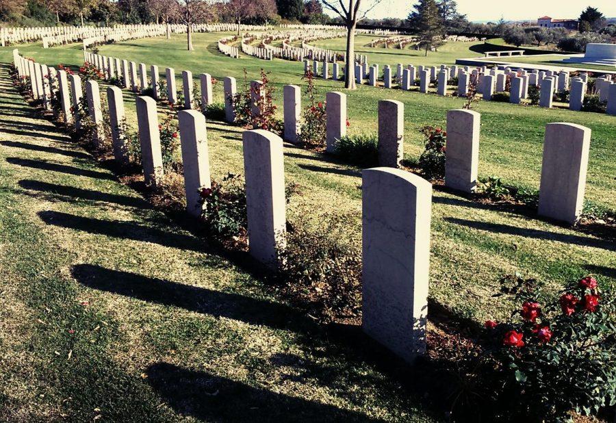 Cimitero britannico di Torino di Sangro dove riposano numerosi caduti della Battaglia del Sangro (ph. Ivan Masciovecchio)