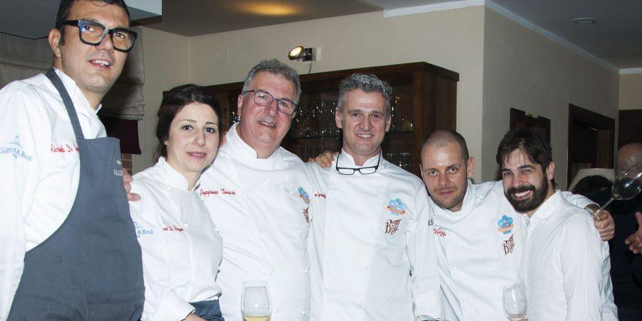 Alcuni chef della passata edizione (ph. sito vetteforchette.it)