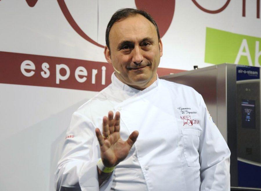 Gennaro D'Ignazio del Vecchia Marina, new entry Bib Gourmand 2021 (ph. Ivan Masciovecchio)