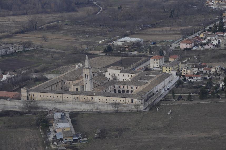 La Badia celestiniana di Santo Spirito a Sulmona (ph. Ivan Masciovecchio)