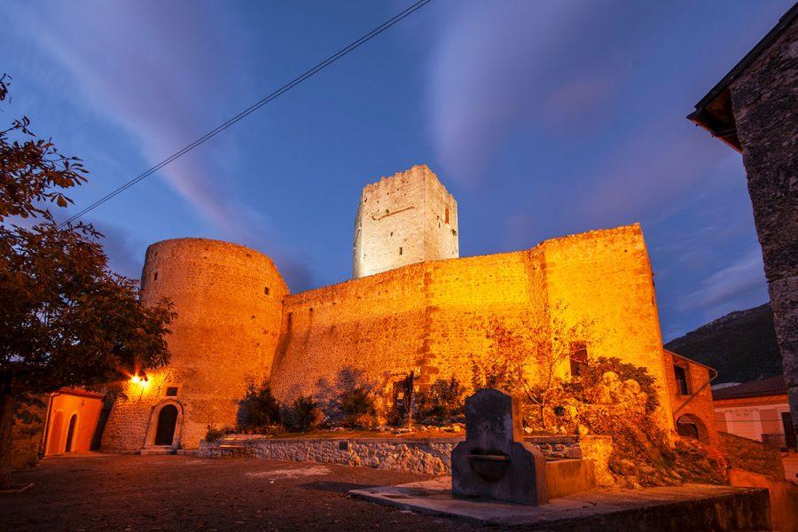 il Castello Cantelmo (IX-X sec)