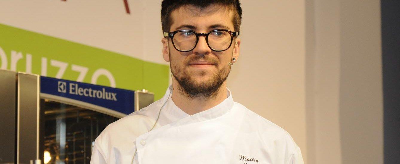 Mattia Spadone sul palco del Meet In Cucina 2018 (ph. Ivan Masciovecchio)