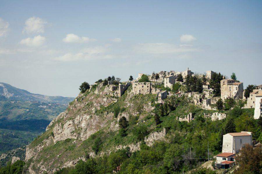 Panorama di Gessopalena (ph. sito sullalineagustav.it)
