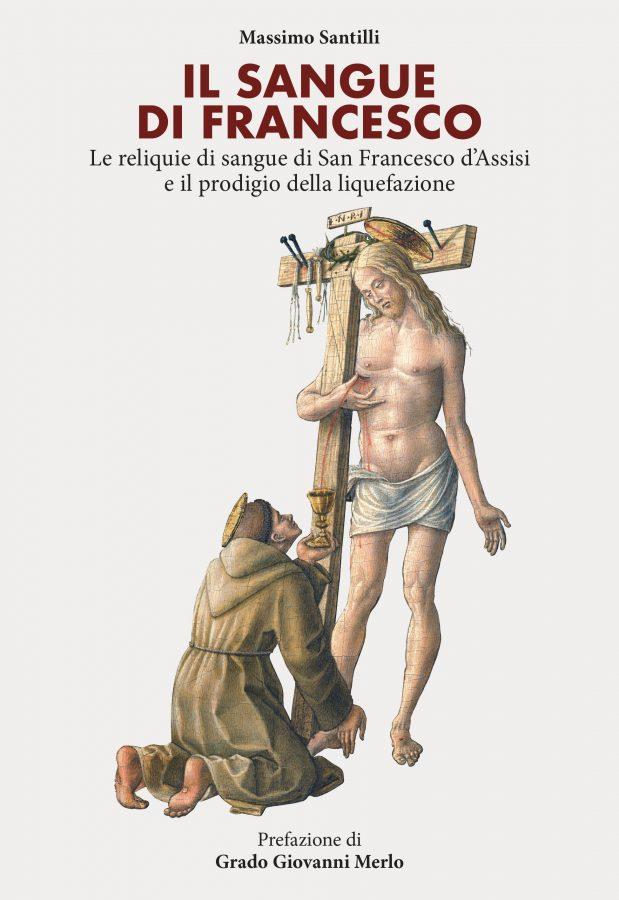 Copertina Il sangue di Francesco massimo santilli