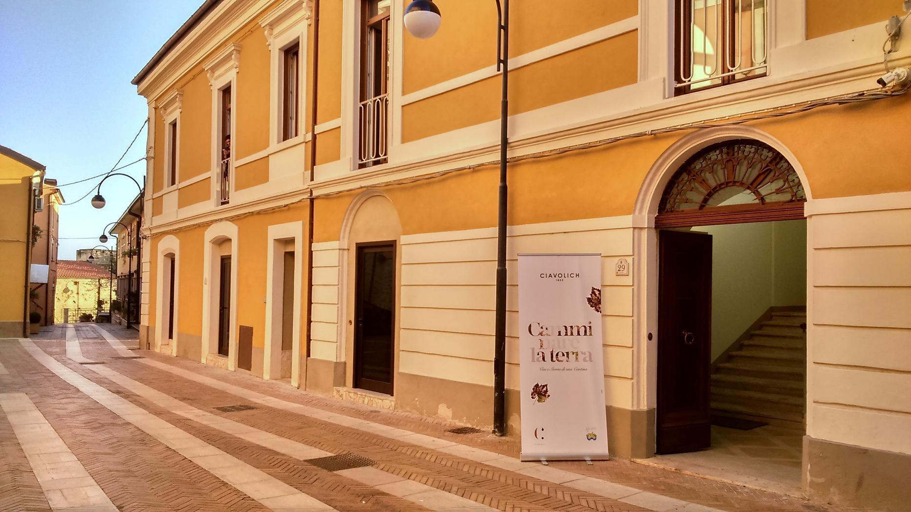 La Casa delle Monache Sant'Anna a Miglianico (ph. Ivan Masciovecchio)